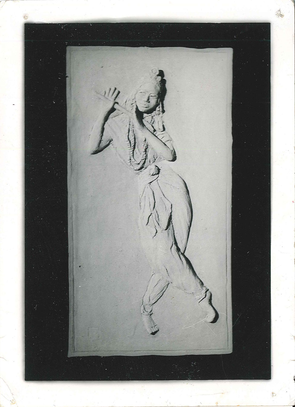 Arabian dancer - relief